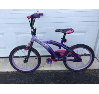 Vélo fille  ( fillette environ 6-7 ans)