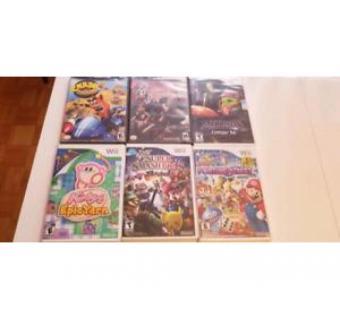 Jeux Nintendo wii et gamecube neuf