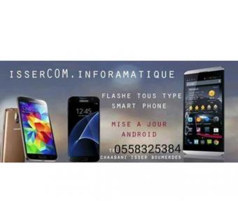Flash decodage tout types des telephone portables